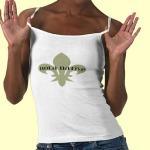 Native fleur de lis t-shirt